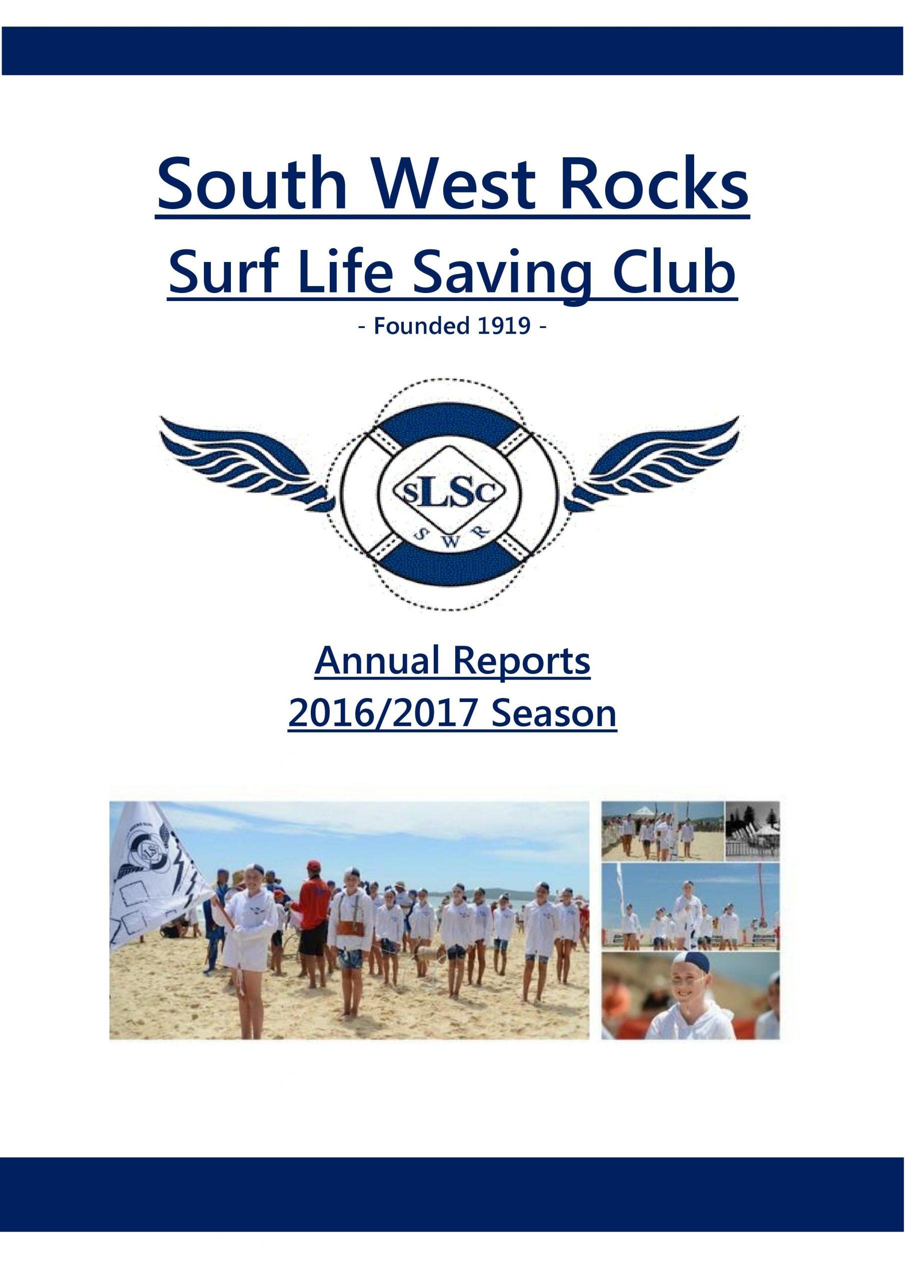SWRSLSC - Annual Report 2016-17